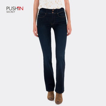 Salsa 116323 Bootcut Jeans - Regular (Dark Navy Wash Effect)