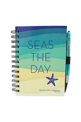 Journal with Pen - Seas the Day