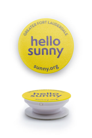 Hello Sunny Phone Pop-Out Holder