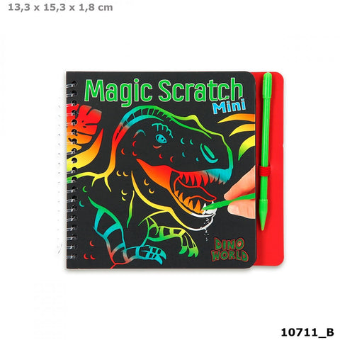 Dino World Mini Magic-Scratch Book