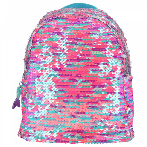 TOPModel Fantasy Model Sequin Reversible Backpack
