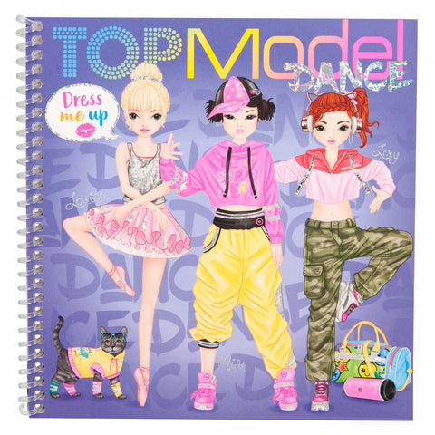 TOPModel Dress Me Up Sticker Book