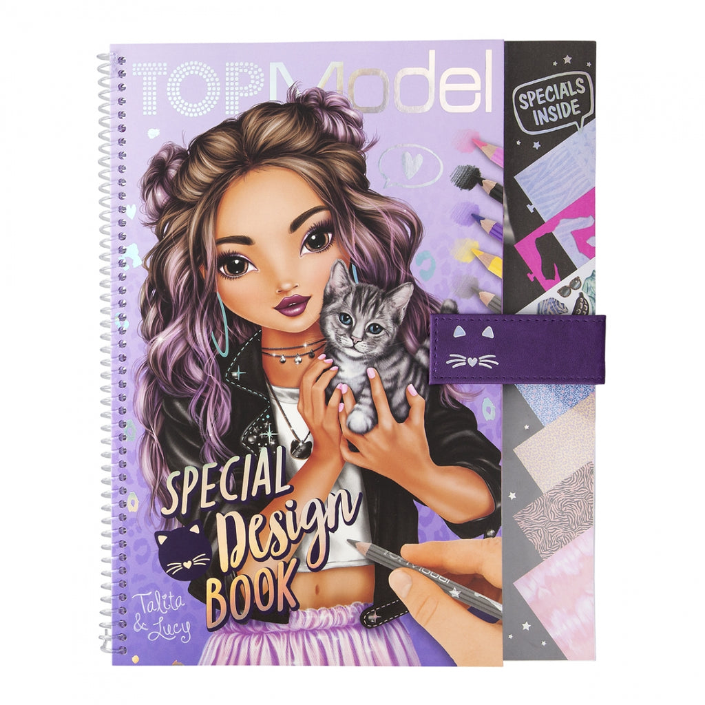 TOPModel Special Design Book Purple Edition