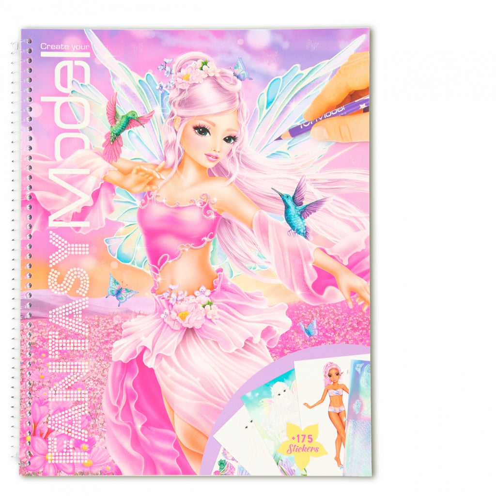 TOPModel Fantasy Model Colouring Book SS21
