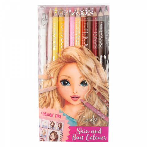 TOPModel Pencil Set Skin and Hair Tones