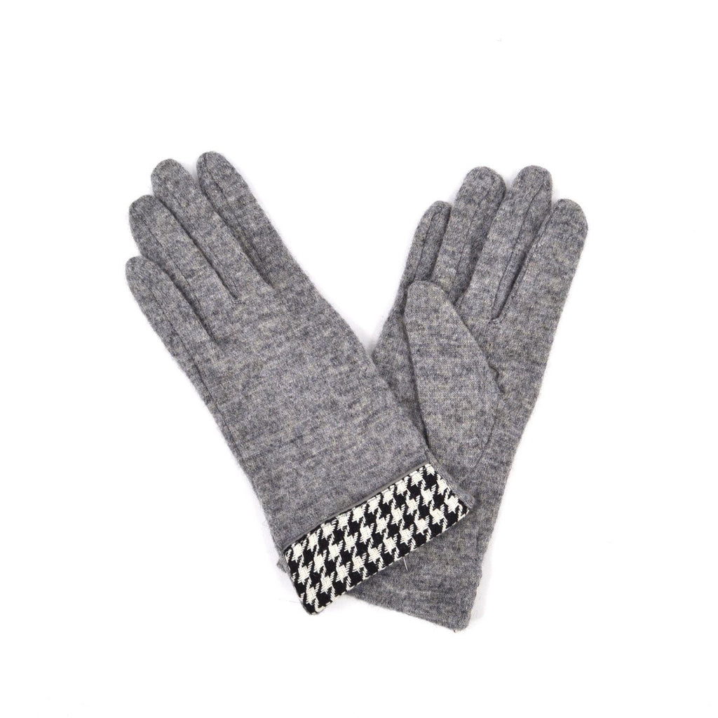 Dogtooth Cuff Gloves
