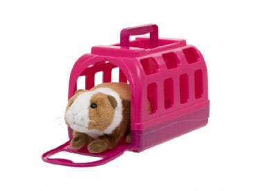 Toy Guinea Pig with Carry Case