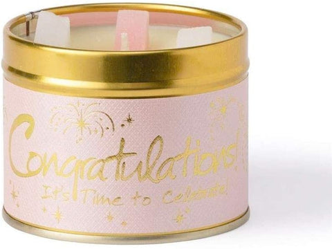Lily-Flame Congratulations Scented Candle