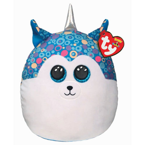 TY Helena the Husky Squish A Boo Plush 10""