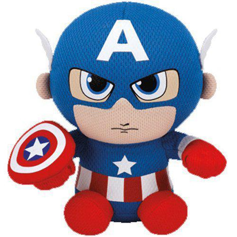 Captain America From Marvel Beanie Boo TY