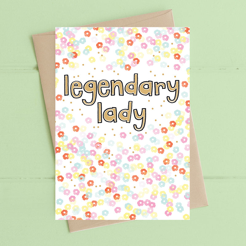 Legendary Lady Card