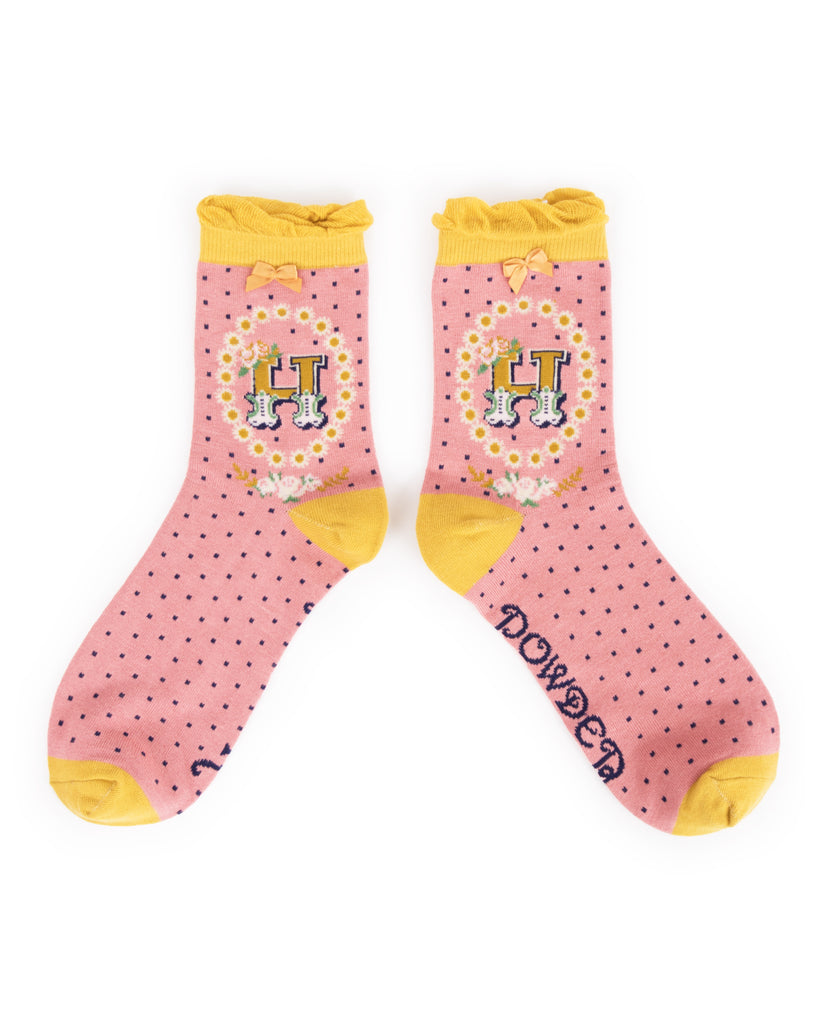 Powder A-Z Ankle Socks - H