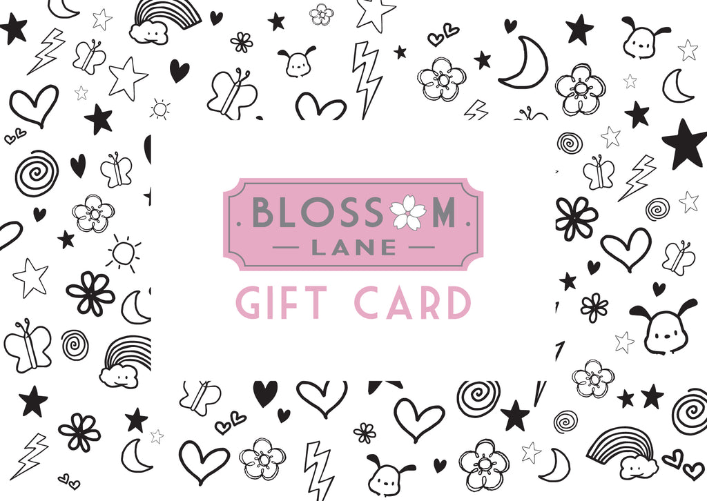Kawaii Design Gift Card