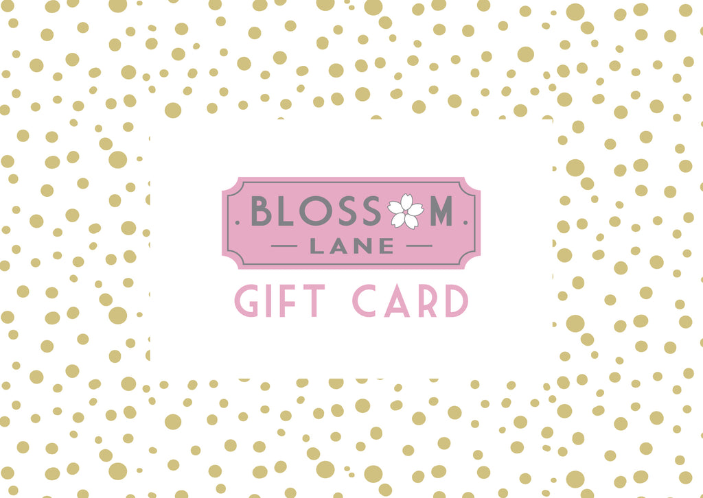 Gold Spots Design Gift Card