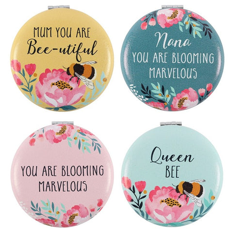 Blossom and Bee Compact Mirror