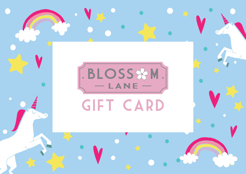 Unicorn Design Gift Card