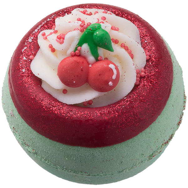 Bomb Cosmetics Cherry on Top Bath Bomb Blaster
