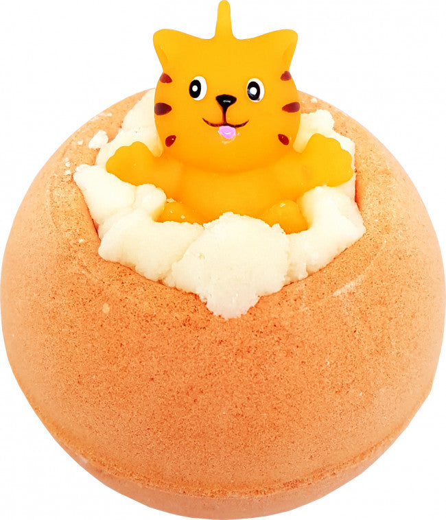 Bomb Cosmetics Toy Cat Meow For Now Bath Bomb Blaster