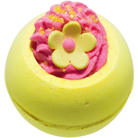 Bomb Cosmetics Yellow Daisy Flower Bath Bomb Blaster