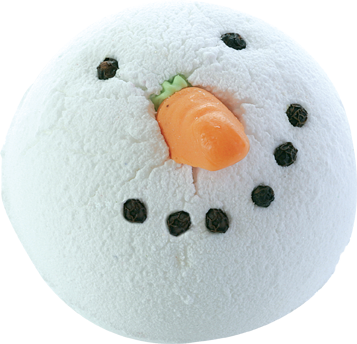Bomb Cosmetics Snowman Chilly Willy Christmas Bath Bomb Blaster