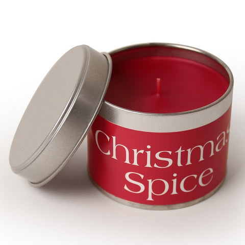 Pintail Christmas Spice Candle Tin