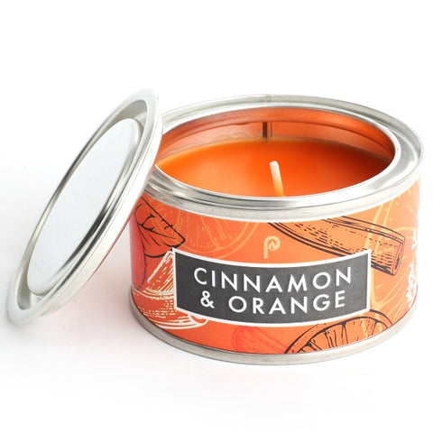 Pintail Cinnamon and Orange Elements Candle Tin