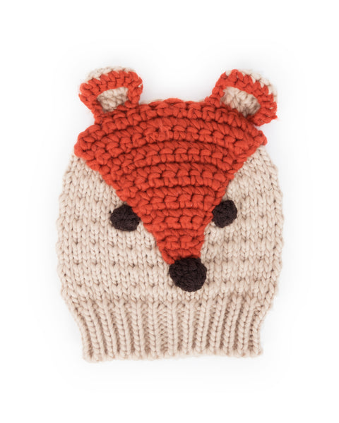 Powder Children's Fox Hat