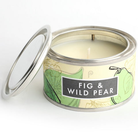 Pintail Fig and Wild Pear Elements Candle Tin