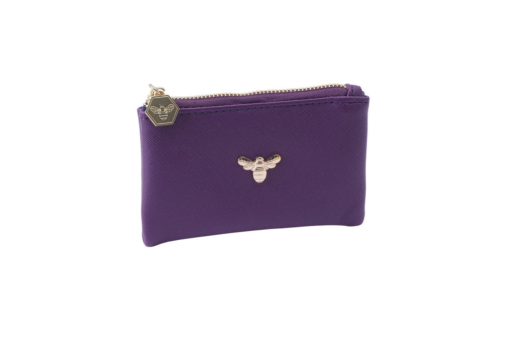 Beekeeper Coin Purse in Purple