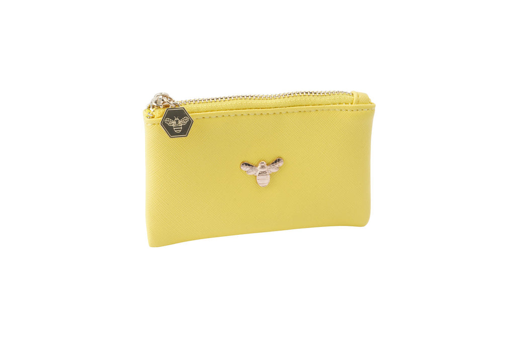 Beekeeper Coin Purse in Yellow