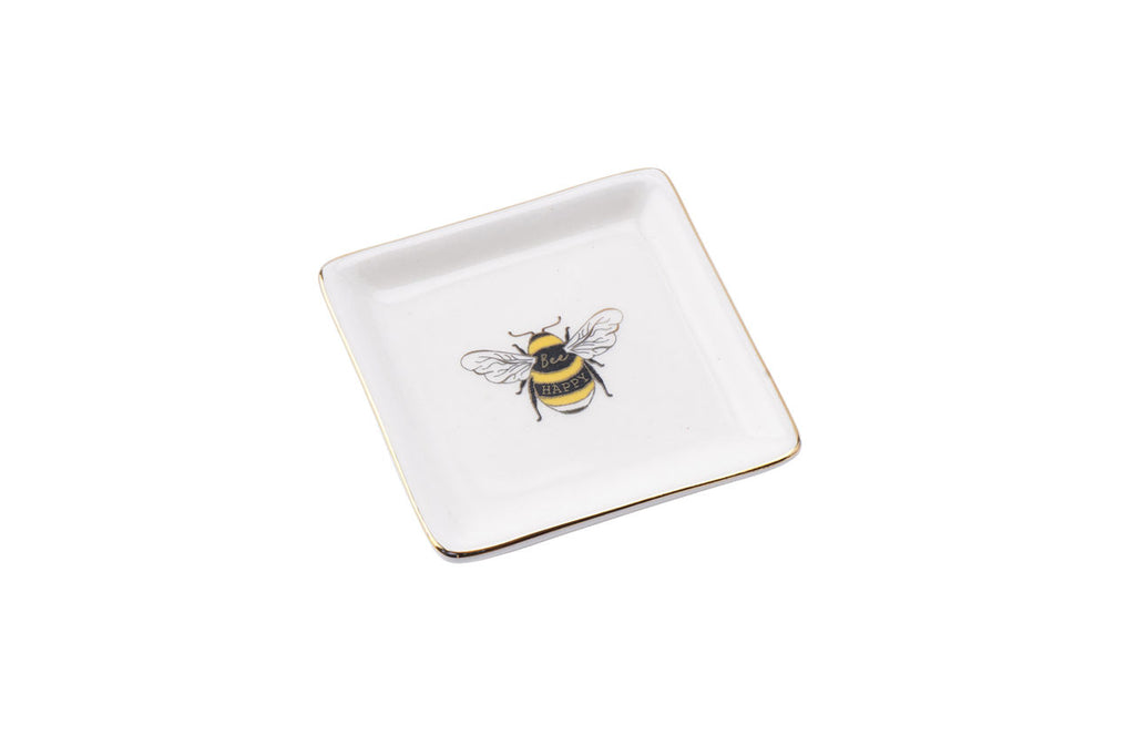 Bee Happy Trinket Dish
