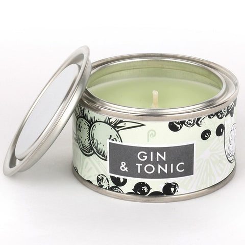 Pintail Gin and Tonic Elements Candle Tin