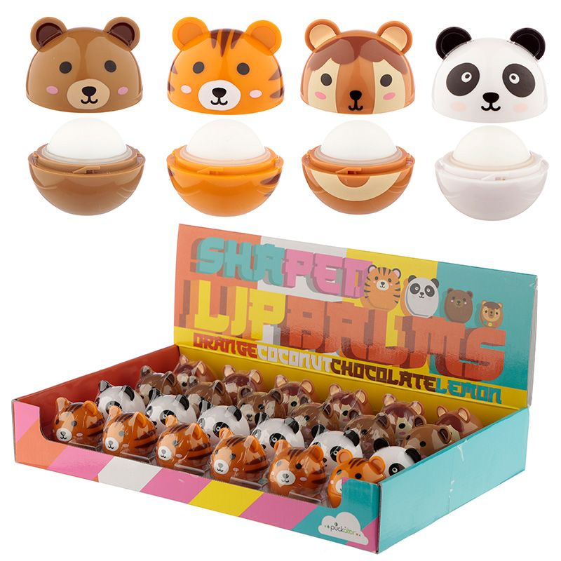 Cutiemals Animal Shaped Lip Balm