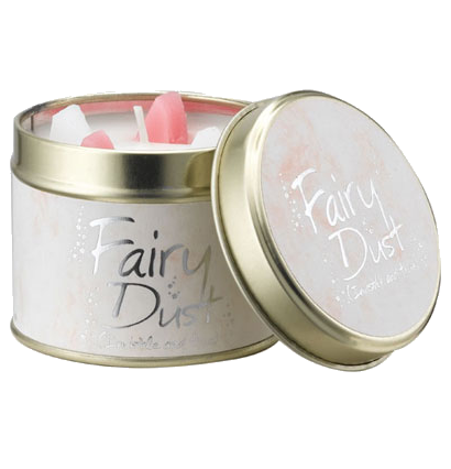 Lily-Flame Fairy Dust Scented Candle Tin