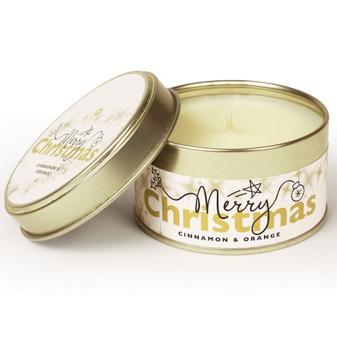 Pintail 'Merry Christmas' Candle Tin