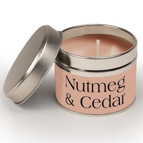Pintail Nutmeg and Cedar Coordinate Candle