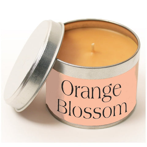 Pintail Orange Blossom Candle Tin
