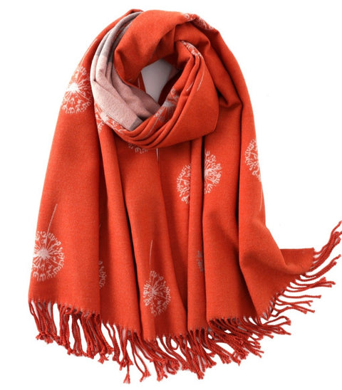 Dandelion Scarf in Orange