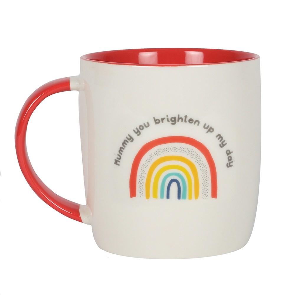 Mum You Brighten Up My Day Rainbow Mug