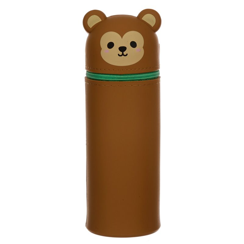 Cutiemals Monkey Silicone Pencil Case