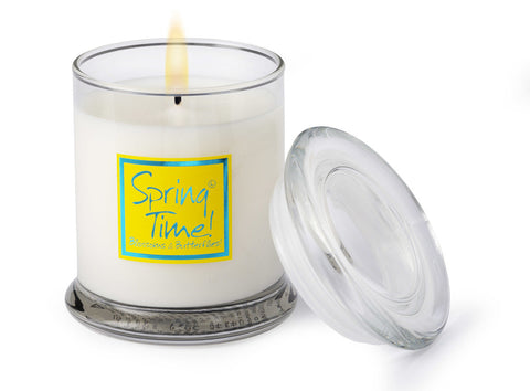 Lily-Flame Spring Time Scented Glass Jar