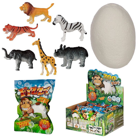 Safari Animal Fizzy Egg Bomb