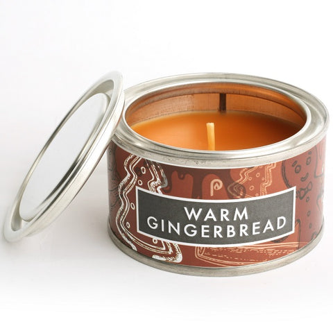 Pintail Warm Ginger Bread Elements Candle Tin