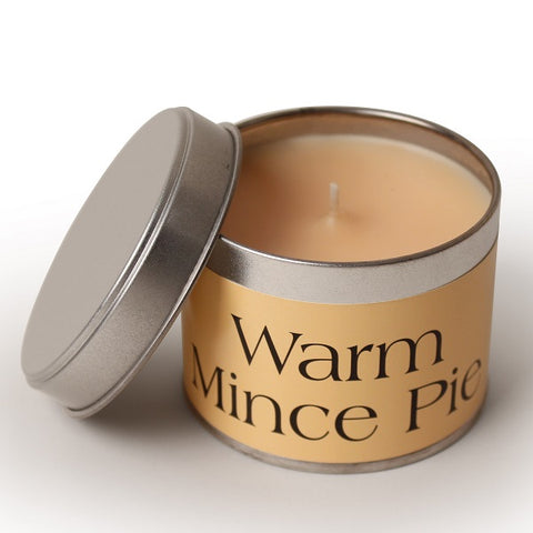 Pintail Warm Mince Pie Candle Tin