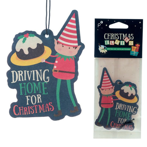 Christmas Driving Home For Christmas Air Freshener