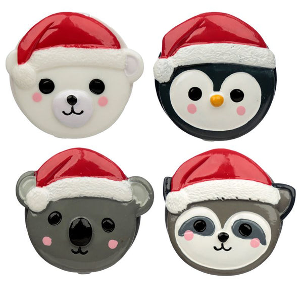 Christmas Cutiemals Animal Shaped Lip Balm