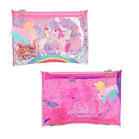 Ylvi and the Minimoomis Glitter Zip Wallet