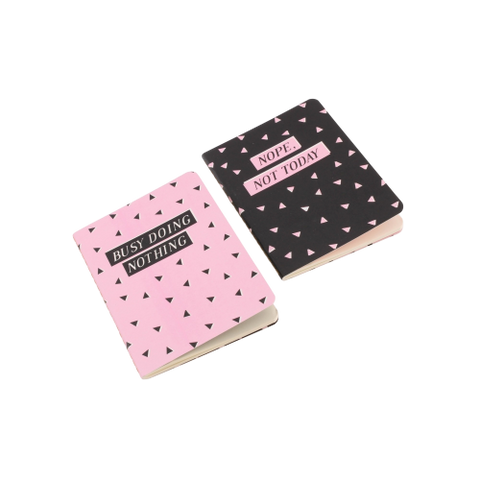 Set of 2 A6 Notebooks