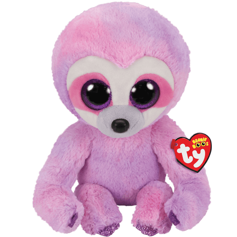 Dreamy Purple Sloth Beanie Boo TY