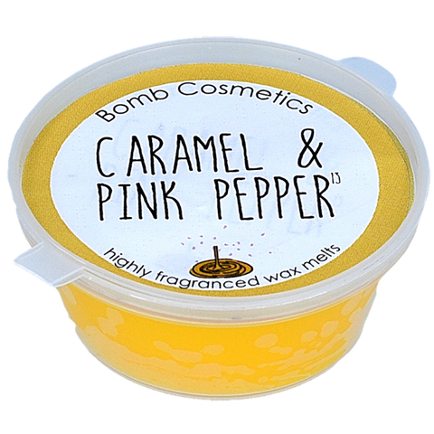 Bomb Cosmetics Caramel and Pink Pepper Wax Melt